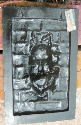 Brick Panel with Scary Face (JR S-001) - Thumbnail 03