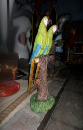 Green Macaw Pair 3ft (JR BD-1001)