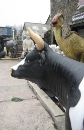 Cow Head Up (With Horns) (JR 0049) - Thumbnail 03