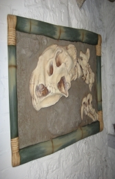 Dino Skeleton head wall mounted (JR ACP1266)