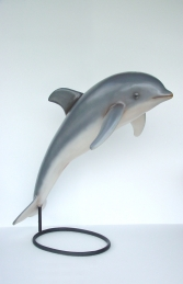 Dolphin on stand (JR 2158-B) - Thumbnail 01