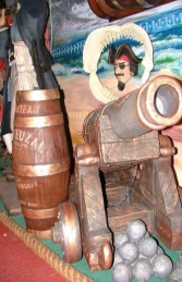 Cannon with Cannon Balls (JR 1606)