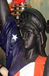 Statue of Liberty with American Flag (JR 357AF) - Thumbnail 02
