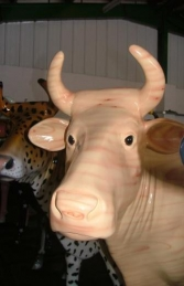 Wood Cow life-size (JR 7006) - Thumbnail 01