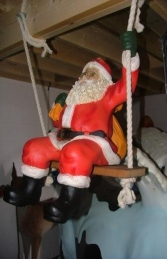Santa on Swing (JR 1023) - Thumbnail 01
