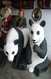 Panda Walking life-size (JR 2551) - Thumbnail 03