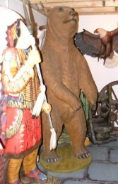 Grizzly Bear 7ft tall (JR 2574)