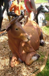Cow Lying-down (With Horns) (JR 2005) - Thumbnail 02