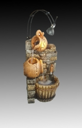 DW72120 Small Poly Resin Water Feature