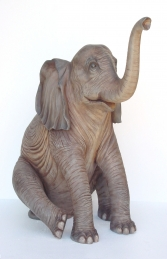 Elephant Sitting 5ft (JR 2232)