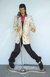 Elvis style Singer with Microphone 6ft (JR 667) - Thumbnail 02