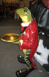 Frog Butler with tray (JR AFFRB) - Thumbnail 03