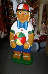 Ginger Bread Boy with Ball 4ft (JR 3126)