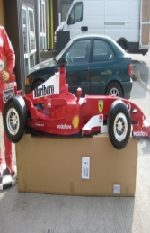 Racing Car Wall Decor - Ferrari 9Ft (JR DF6332F)