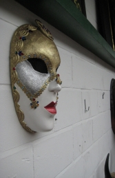 Venice Mask - Female 1.5ft (JR 2612) - Thumbnail 02