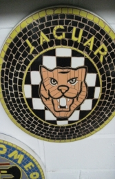 Jaguar Badge Mosaic (JR 2604) - Thumbnail 03