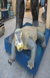 Komodo Dragon Small 5.5ft (JR 120001) - Thumbnail 01