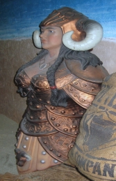 Viking Female Figurehead (JR 2449) - Thumbnail 02