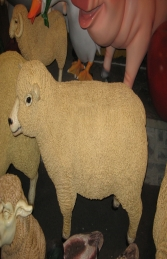 Ryeland Ewe Sheep (JR 120006) - Thumbnail 01