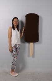 ICE CREAM POPSICLE HANGING - CHOCOLATE JR 180223C