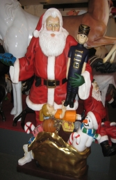 Santa Claus with Gifts - 6ft (JR 2174)