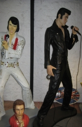 Elvis Style Singer Standing with Microphone 6ft (JR 2766)	 - Thumbnail 03
