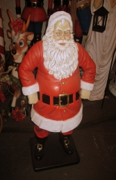 Jolly Santa 4ft (JR 080088) - Thumbnail 01