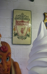 Liverpool F.C. Mosaic Football Sign (JR 2654)