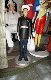 Marine in Attention 3ft (JR 2185)