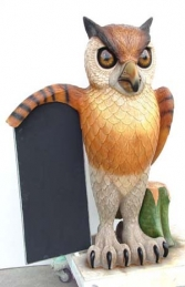 Owl with Menu-board 5ft (JR 1953) - Thumbnail 01