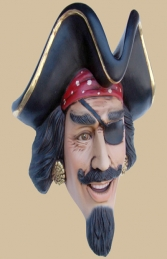 Pirate Head Wall Decor (JR 2342)