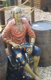 Pirate Sat on Treasure Chest (JR 1540)