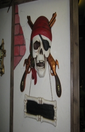 Pirate Wall Decor - Guns (JR EX)