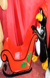 Penguin with Sleigh (JR 160265) - Thumbnail 02