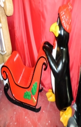 Penguin with Sleigh (JR 160265) - Thumbnail 03