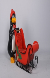 Penguin with Sleigh (JR 160265) - Thumbnail 01