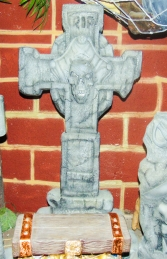 Tombstone - Cross (JR R-230) - Thumbnail 02