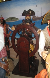 Pirate with Wheel 6ft (JR 030714) - Thumbnail 01