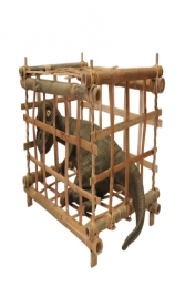 Baby T Rex in Cage (JR R-196)
