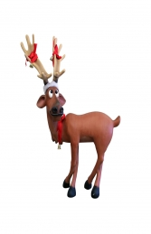 DASHER REINDEER STANDING WITH X LEGS - JR S-019