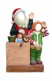 Crazy Elves with toys Photo Op (JR S-167) - Thumbnail 01