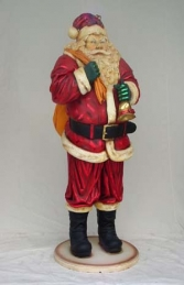 Father Christmas/Santa Claus Figure 4ft (JR 865) - Thumbnail 02
