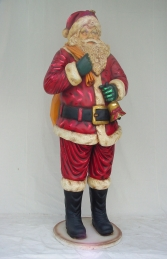 Father Christmas / Santa Claus Figure 7.5ft (JR 676)