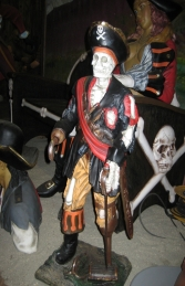 Skeleton Pirate 3ft (JR 2309) - Thumbnail 03