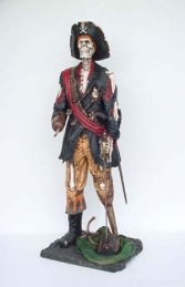 Skeleton Pirate 6ft (JR 2263)