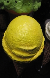 Standing Ice Cream Small - Yellow 3ft (JR 130017y) - Thumbnail 02