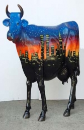 Starry Night Cow life-size (JR 7012)