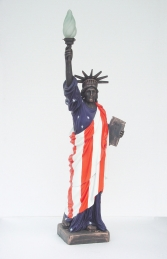 Statue of Liberty with American Flag (JR 356AF)