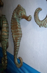 "Seahorse 24"" - Bronze Wall Decor (JR 140054R)"