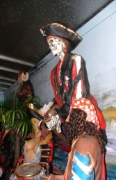 Figure Head - Skeleton Pirate 4ft (JR 2442)